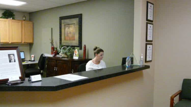 Front Desk at Aspen Springs Dental