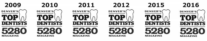 Top Dentists 5280 Magazine
