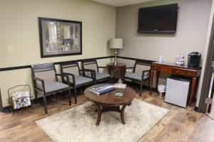 aspen springs dental waiting room