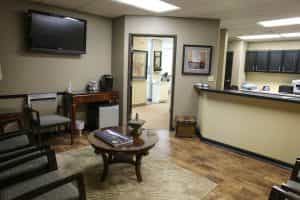 aspen springs dental waiting area