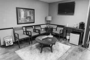 dentist office waiting room Centennial Colorado